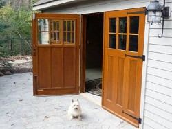 Neighborly carriage house garage doors