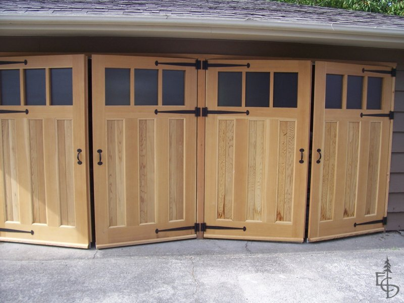 Crafting carriage doors is our business & Gallery - Evergreen Carriage Doors