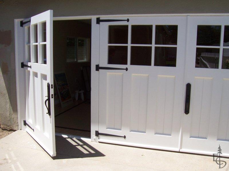 Gallery Evergreen Carriage Doors